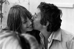 Jane Birkin con Serge Gainsbourg.